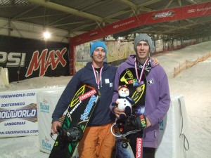 Gold and Bronze for Kiwi Snowboarders on Second Day of Racing in Netherlands