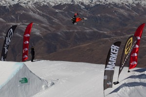 Bluebird Start to The North Face Freeski Open of New Zealand with Men's Slopestyle Qualifiers