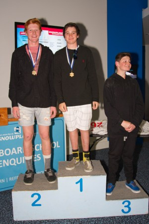 Halliwell and Jackson Crowned National Indoor Slalom Champions