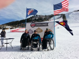 Giant Slalom Podium for Corey Peters