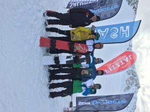 Podium for Duncan Campbell at Junior FIS Races