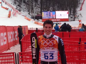 Adam Barwood Takes on Olympic GS