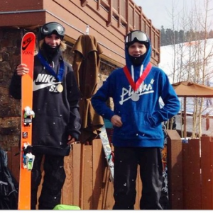 USASA Podiums for Finn Bilous and Porteous Brothers