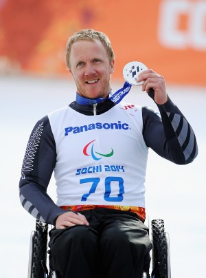 Corey Peters Wins Paralympic Silver Medal in Sochi