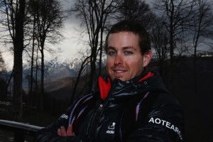 Adam Hall Defending His Paralympic Gold Medal in Slalom Tonight