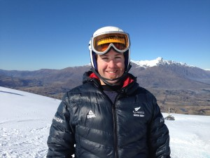Gold Medal for Adam Hall at IPC Snow Sports NZ National Slalom Champs