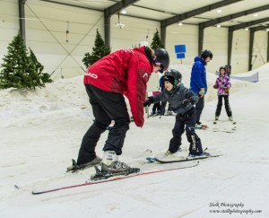 Young Stroke Thrivers Enjoy Have a Go Day at Snowplanet