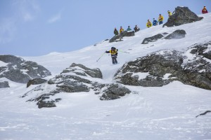 The North Face® Frontier 4* Freeride World Qualifier a Proving Ground for World's Best