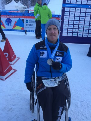 Corey Peters in the Medals at World Champs