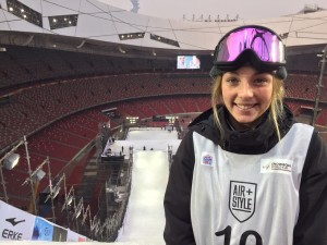Zoi Sadowski-Synnott 4th at Air + Style Big Air World Cup in Beijing