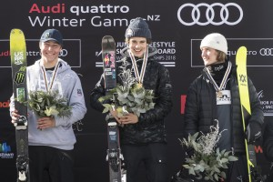 Nico Porteous Crowned Junior World Champ on Home Snow