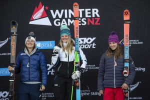 NZ Ski Racers Dominate Podiums at Winter Games NZ Super-G Races