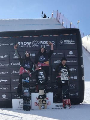 World Cup Victory for Snowboarder Tiarn Collins in Calgary